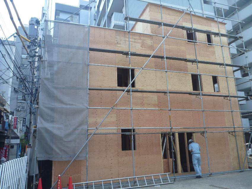 新宿区新宿5丁目 木造3階建耐火住宅