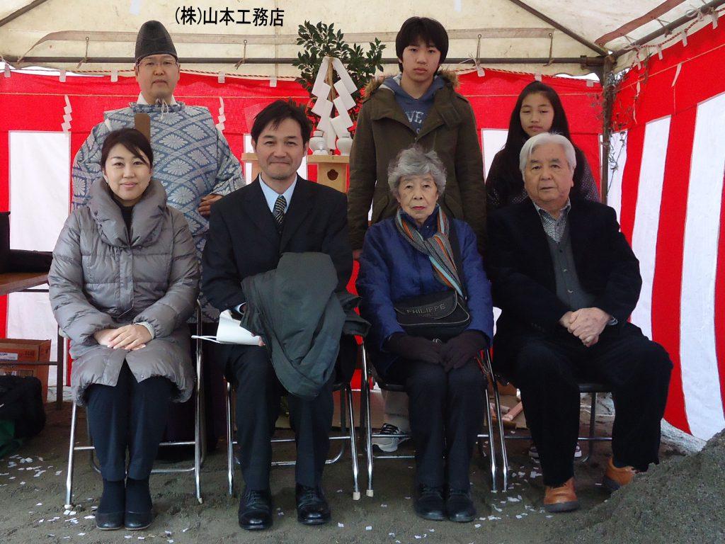 豊島区高田木造住宅 地鎮祭 高田氷川神社