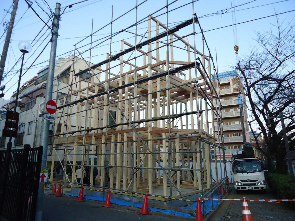 豊島区高田木造住宅